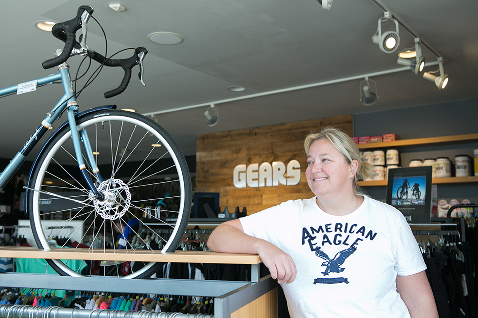 Ira Kargel in Gears Bike Shop